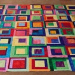 My color block quilt
