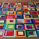 My color block quilt